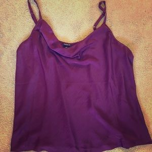 Silky Cowl Neck Camisole